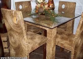 woven dining room furniture sets indonesia