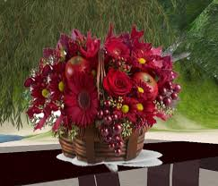 fruits flowers second marketplace flowers and fruits arrangement in a
