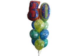 30th birthday balloon delivery 30th birthday balloons helium balloons perth 30th