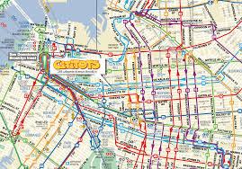 A Train Subway Map by Cititots Preschool In Clinton Hill