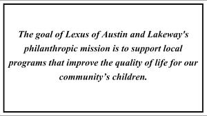 lexus austin stonelake lexus of austin charitable giving youtube