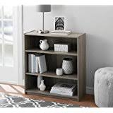 Distressed Wood Bookcase Amazon Com Wooden Weathered Distressed 3 Shelf Bookcase Wood