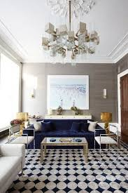 Navy Blue Sofas by A Velvet Touch The Potted Boxwood
