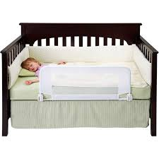 What Is A Convertible Crib Dexbaby Safe Sleeper Convertible Crib Bed Rail For Toddler With