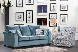 Boston Swivel Chair by Alstons Sofas For Living
