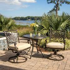 Bistro Set Bar Height Outdoor by Patio Ideas Patio Furniture Bistro Sets Bar Height Ikayaa 3pcs