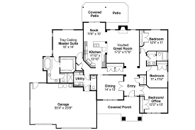 Porch Floor Plans Craftsman With Open Floor Plans Home Style Homes House
