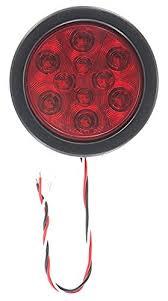 4 inch round led tail lights super light lt22546rk round led stop turn tail light kit 4
