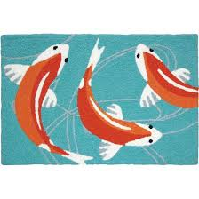 Koi Outdoor Rug Wholesaler For Gift Novelty And Indoor Outdoor Rugs Koi Pond