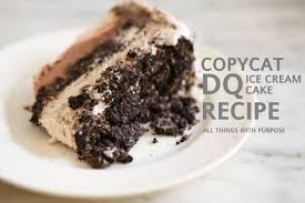 dq ice cream cake recipe