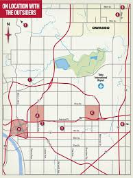 Map Of Tulsa Explore The Locations Where U0027the Outsiders U0027 Movie Was Filmed