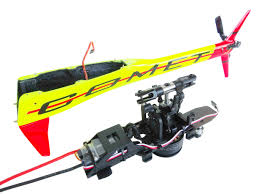Goblin 700 Canopy by Sg283 Goblin Mini Comet Yellow Red With Competition Motor