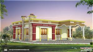 indian small house design 3 bhk traditional kerala home design