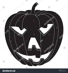 small halloween emoticons transparent background halloween pumpkin vector isolated on white stock vector 323960165