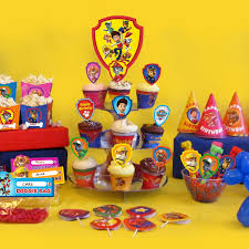 paw patrol candy table ideas paw patrol party day planner nickelodeon parents