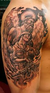 30 best soldier angel tattoos images on pinterest soldiers