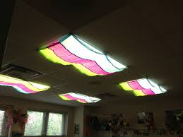 Cover Fluorescent Ceiling Lights I These Classroom Light Filters For Covering My Fluorescent