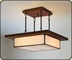 flush mount craftsman lighting arts and crafts style light fixture mission studio also comes w