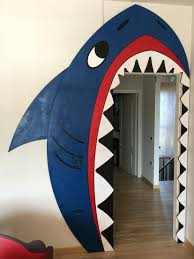 classroom door decoration ocean shark i teach pinterest