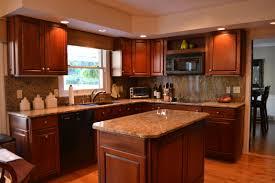 kitchen design kitchen color ideas with golden oak cabinets