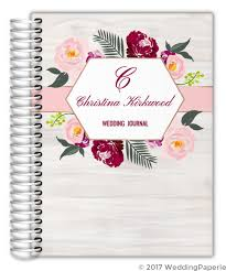 wedding journal floral boho wedding journal wedding journals