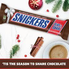 amazon com snickers slice n u0027 share giant chocolate candy bar 1