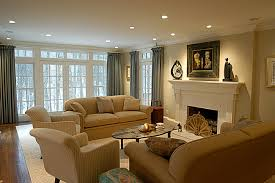 Remodeling Family Room  Grasscloth Wallpaper - Family room remodel