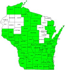 Racine Wisconsin Map by Wisconsin Counties Visited With Map Highpoint Capitol And Facts