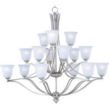 15 light chandelier maxim lighting madera 15 light chandelier 10178icss the home depot