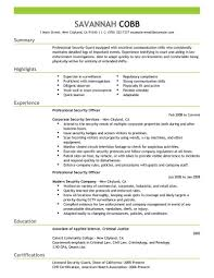 Example Of Resume Experience by Best Example Of A Resume