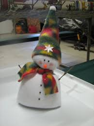 sock snowman sock snowman christmas crafts pinterest sock