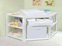 corner baby changing table corner changing table badger basket diaper corner baby changing