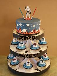wars cupcakes party cakes wars cake cupcake display