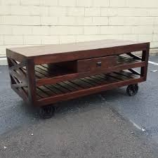 Coffee Tables With Wheels Coffee Tables Archives Nadeau Atlanta
