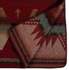 Southwestern Throw Rugs Yellowstone Southwestern Geometrical Pattern Throw Blanket 60x72