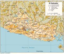 Geography Map Maps Of El Salvador Salvadoran Flags Maps Economy Geography