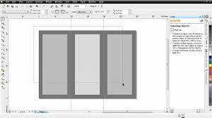 tutorial membuat undangan dengan corel draw 12 cara membuat brosur lipat 3 coreldraw x4 mp4 youtube