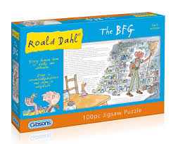 jigsaw quote game roald dahl the bfg jigsaw puzzle 100 pieces amazon co uk toys