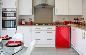 Red And White Kitchen Designs Interior Design Modern Cenwood Appliances For Your Kitchen Tools
