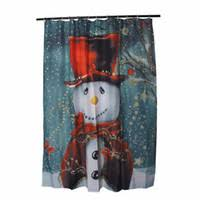 wholesale christmas shower curtains buy cheap christmas shower