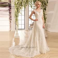 wholesale vintage boho wedding dress 2017 a line lace korean bride