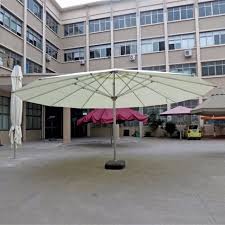 Sun Umbrella Patio Dia 8 Meter King Size Deluxe Big Garden Sun Umbrella Parasol