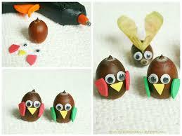 acorn bird craft for kids stworzonka z żołędzi jesienna
