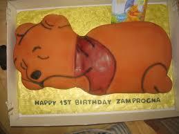 baby winnie the pooh cake custom cakes virginia beach