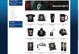 halloween horror nights 2016 hollywood tickets horror nights 26 merch sneak peek