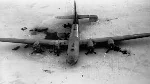 wrecked spy plane from cold war spotted on remote ice sheet youtube
