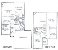 economy house plans 2 story floor plans without garage simple bedroom house with
