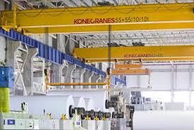new cranes smart move for paper mill konecranes usa