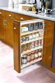 kitchen cabinet spice racks spice storage cabinet cabinet spice rack spice rack storage