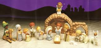 hallmark gallery hamilton nativity set